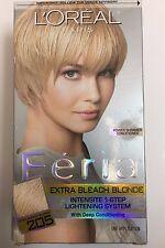 L'Oreal Paris Feria 1-Step Lightening System, 205 Extra Bleach Blonde