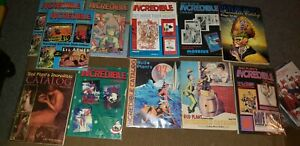 Early 1990s Bud Plant's Incredible Catalog Lot of 11 VG