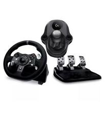 LOGITECH Driving Force G920 Xbox One & PC Racing Wheel, Pedals Gear-stick Bundle