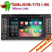 Android 9.0 DAB+ Autorradio GPS Wifi TDT OBD BT Navi para VW T5 Multivan Touareg