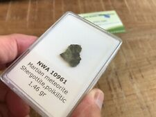 The most beautiful Martian meteorite ever....   NWA 10961 - 1.46 gr