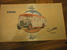 CORGI CLASSICS aec Regal Autobus con R.W. Carney Decalcomanie N. 97193