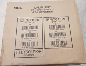 Genuine ORIGINAL NEC WT61LPE Lamp 50030764 to fit WT610 PROJECTOR - BRAND NEW