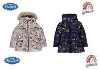 Manteau à capuche La Reine des Neige ou Petits poneys fille du 2 au 12 ans