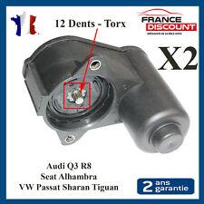 2X Moteur Electrique Frein à Main 12 Dents Q3 R8 Passat Sharan Tiguan 3C0998281A