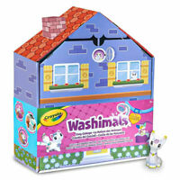 Crayola Washimals Cosy Cottage Set , Coloring and Bathing with Puppies Set