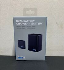 NIB GoPro HERO7 HERO6 HERO5 Black Dual Battery Charger and Battery