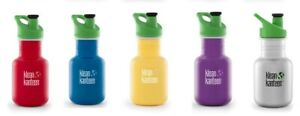 Klean Kanteen - 355ml Water/Juice Bottle- KID KANTEEN - & Available Accessories
