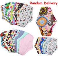 Women Sanitary Pad Reusable Washable Panty Liner Bamboo Cloth Mama Menstrual l