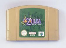 The legend of Zelda Majora's Mask N64 Genuine Nintendo 64 Game Cartridge