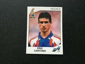 Panini Euro 1992 #2 Eric Cantona №61