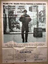 Taxi Driver (Affiche cinéma EO 1976) Scorsese, Robert De Niro, Foster, Keitel