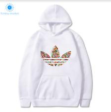 Adidas Sportswear Hoodie Fitness Casual Activewear Pullover Men's Sweatshirts