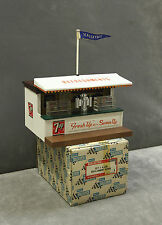 Vintage SCALEXTRIC A228 7up Refreshments Seven Up Refreshment Kiosk - BOXED!