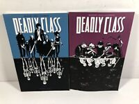 Image Comics Lot Deadly Class Volume 1 & 2 Graphic Novels TPB