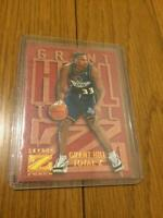 Grant Hill SkyBox Basketball Card 1996-1997 Pistons English NM Total Z Force 1/1