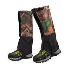 Hiking Legging Gaiters Layer Gaiter Snow Walking Hunting  Snake 2pc/set Double