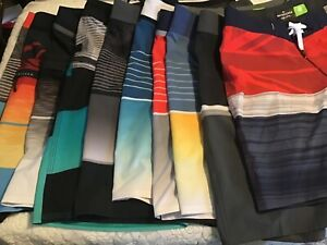 """Quiksilver High Line Shorts 17"""" Different Colors and Styles Size 26 youth"""