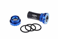 MOWA TRB-AB Mountain BMX MTB Cycling Bike Bottom Bracket BSA 68/73mm BB Blue