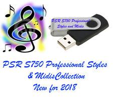 YAMAHA PSR S750 PROFESSIONAL Styles et midi le nouveau pour 2018