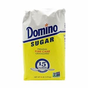 Domino, Granulated White Sugar, 4 lb