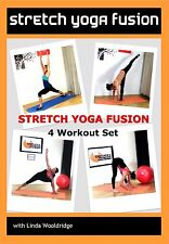 Stretch Yoga EXERCISE DVD - Barlates Body Blitz STRETCH YOGA FUSION - 4 Workouts