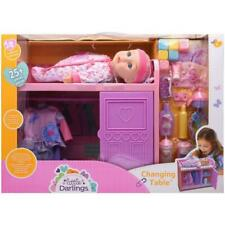 Baby Doll Changing Table Playset Toy Toddler Kids Gift Pretend Girl Boy New