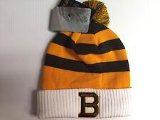 Boston Bruins Knit Hat Winter Classic 2018-2019 Pom Stocking Cap NHL