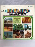 Hawaii Greatest Hits Stereo Decca Records 33 RPM 12 Inch Vinyl LP Record Album