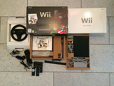 Nintendo Wii Konsole Mario Kart Pak Wii Wheel Remote Plus Contr. Docking Station
