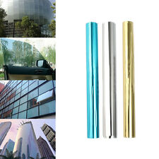 Anti-UV Mirror Solar Reflective Window Glass Tint Film Foil One Way Home Office