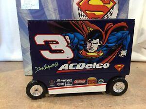 "1999 Dale Earnhardt Jr #3 ""AC DELCO SUPERMAN PIT WAGON "" 1/16th  Action Bank"