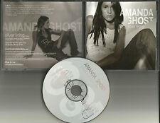 AMANDA GHOST Silver Lining w/ ENHANCED EPK VIDEO SEXY PICS PROMO DJ CD Single
