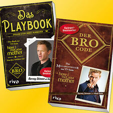 Set: DAS PLAYBOOK + DER BRO CODE | BARNEY STINSON | How i met your Mother (Buch)