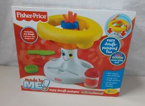 Fisher Price Made By Me Easy Dough Pumper Preschool Toddler Toy New