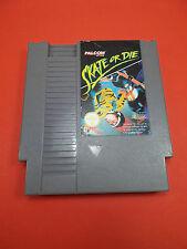 Jeu  Nintendo NES ►SKATE OR DIE/ Cartouche seule testée/tested cartridge