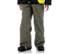 Volcom Five Boys Cargo Pants Snowboard Ski 5k Waterproof Olive XL