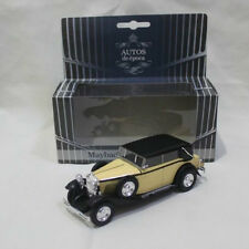 AUTOS De Epoca 1:43 Maybach Zeppelin 1930 Diecast Model Cars  Collection Toys