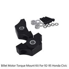 Billet Motor Torque Mount Kit B16 B18 B20 D16 D15 For Honda Civic EG EK Engine