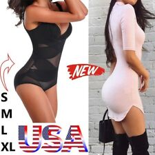 Women Control Body Shaper Waist Trainer Slimming Tummy Bodysuit Full Shapewear