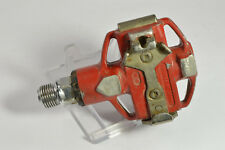 Right pedal Look red D/R  type spd France vintage retro