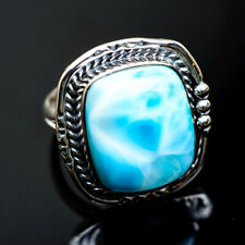 Larimar 925 Sterling Silver Rings 8 Ana Co Jewelry R991300F