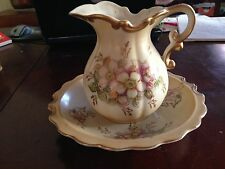 Vintage  PITCHER AND BOWL - ROYAL CROWN  -