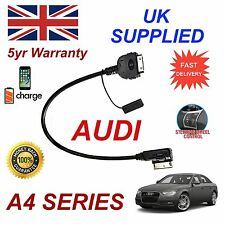 For AUDI A4 4F0051510K iPhone 3gs 4 4s & & most iPods 2009+ AMI MMI audio cable