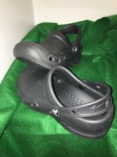 CROCS Classic Toddler Size M 4 W 6 Slip On Black Beach Clogs Shoes