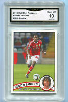 2016 Renato Sanches Hot Prospects Soccer Rookie card Gem 10