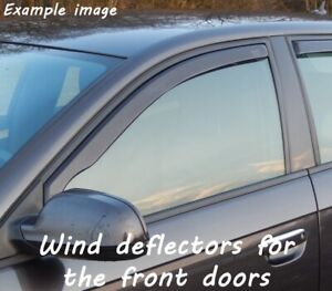 Wind deflectors for Nissan Juke Nismo RS 2014- SUV Offroad 5doors front