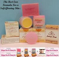 Plus Whitening Day & Night + Collagen Soap Vitamin E Cream Collagen -EXP 2022