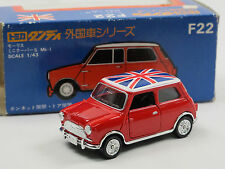 Tomica Dandy F22 - Mini Cooper red w/ Union Jack 1:43 m/b