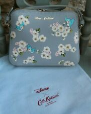 Cath Kidston Disney X Snow White Scattered Blossoms Birds Leather Crossbody Bag